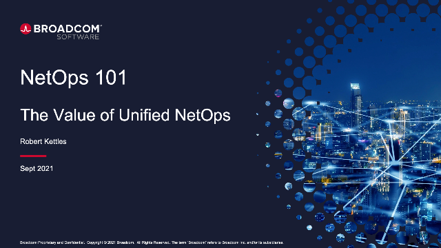 NetOps 101: The Value of Unified Network Operations