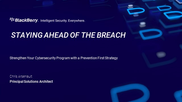 Strengthen Your Cybersecurity Program with a Prevention First Strategy