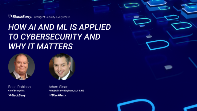 How AI and ML is Applied to Cybersecurity and Why it Matters