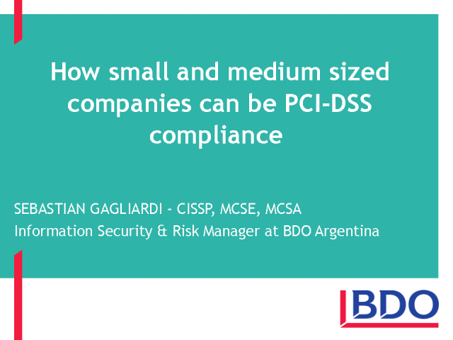 PCI Compliance Standards Implementation