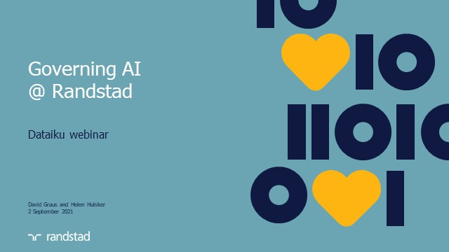 Conversations on Governing AI with Randstad & Dataiku