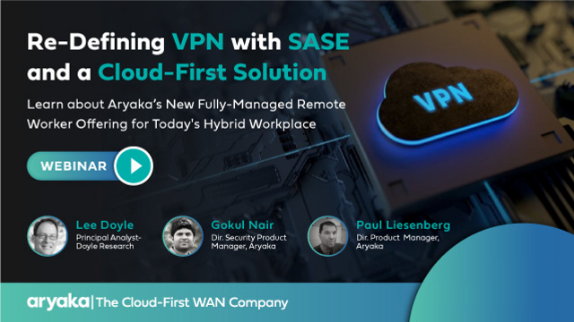 Re-Defining Workplace with SASE and a Cloud-First Solution