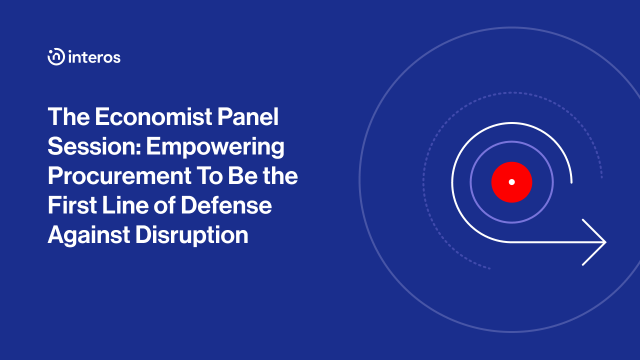 Empowering Procurement To Be the First Line of Defense Against Disruption