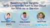 Reaching New Heights: BFSI Companies Turn to the Cloud for RPA-as-a-Service