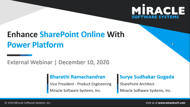 Enhance SharePoint online with Power Platform for your Critical Business Needs