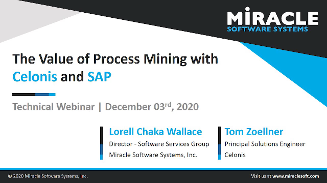 The Value of Process Mining with Celonis and SAP