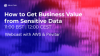 AWS & Privitar: How to Get Business Value from Sensitive Data