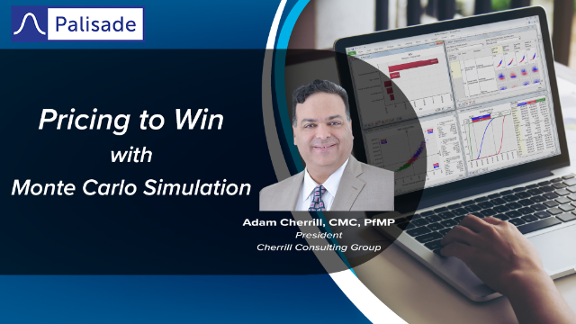 Pricing to Win with Monte Carlo Simulation