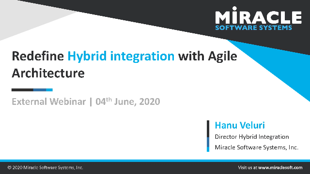 Redefine Hybrid Integration with Agile Architecture
