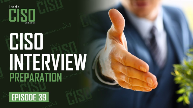 How to Prepare for a CISO Interview