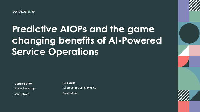 Predictive AIOPs and the game changing benefits of AI-Powered Service Operations