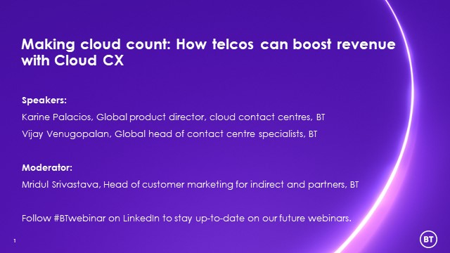 Making cloud count: How telcos can boost revenue with Cloud CX