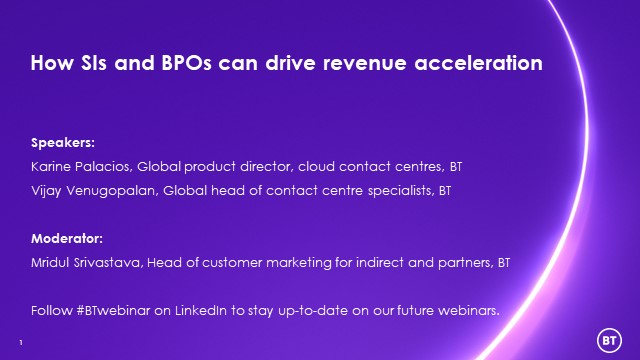 How SIs and BPOs can drive revenue acceleration