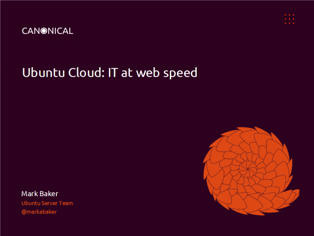 IT at Web Speed: How Cloud Computing can help your Business