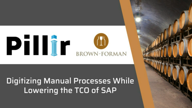 Digitizing Manual Processes While Lowering the TCO of SAP with Brown Forman
