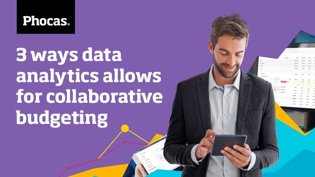 (North America) 3 ways data analytics allows for collaborative budgeting