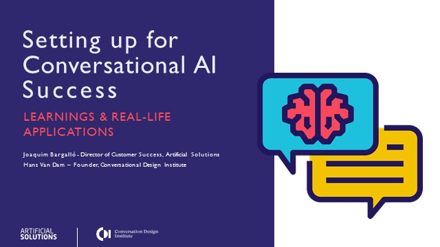 Setting up your business for Conversational AI Success