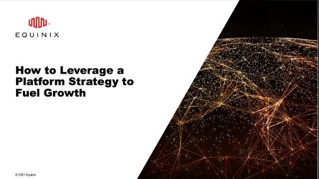 How to Leverage a Platform Strategy to Fuel Growth