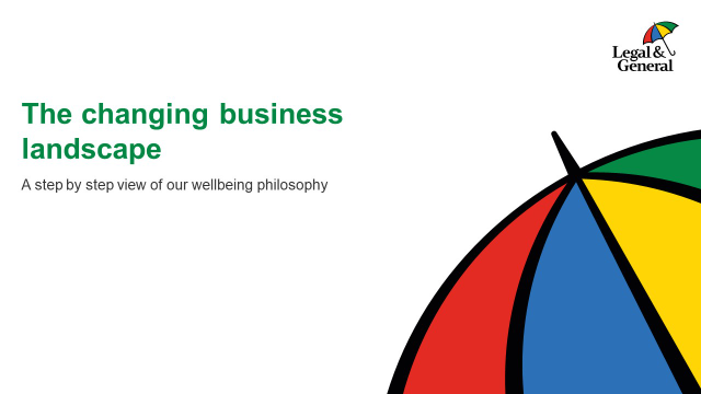 School of wellbeing - session 2: The changing business landscape