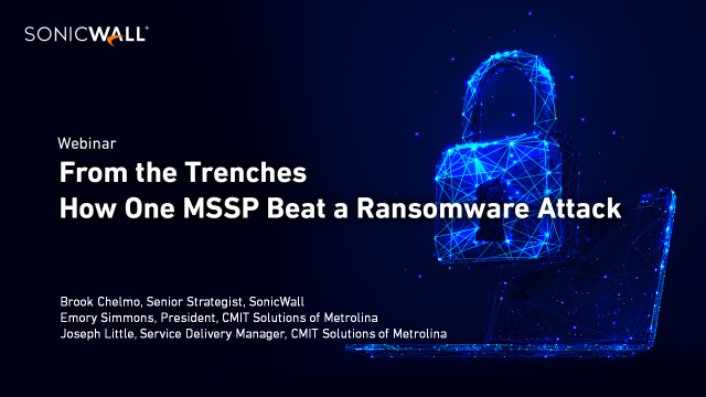 From the Trenches: How One MSSP Beat a Ransomware Attack