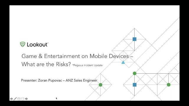 What are the risks series 3/4:Australia's Game & Entertainment on Mobile Devices
