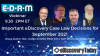 Important eDiscovery Case Law Decisions for September 2021