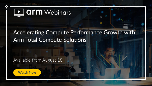 Accelerating Compute Performance Growth with Arm Total Compute Solutions