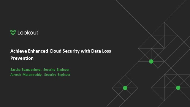 Achieve Enhanced Cloud Security with Data Loss Prevention