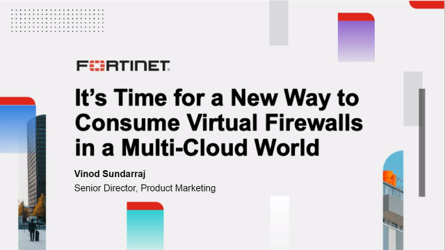 It's Time for a New Way to Consume Virtual Firewalls in a Multi-Cloud World