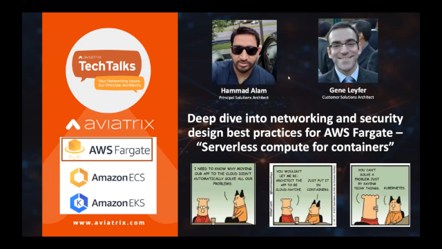 Deep dive into Networking and Security design best practices for AWS Fargate