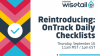 Re-Introducing: OnTrack Daily Checklists