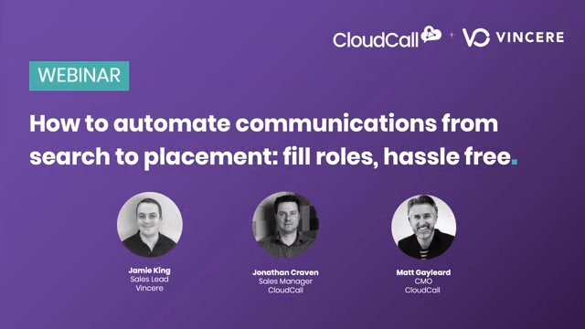 How to automate communications from search to placement: fill roles, hassle free