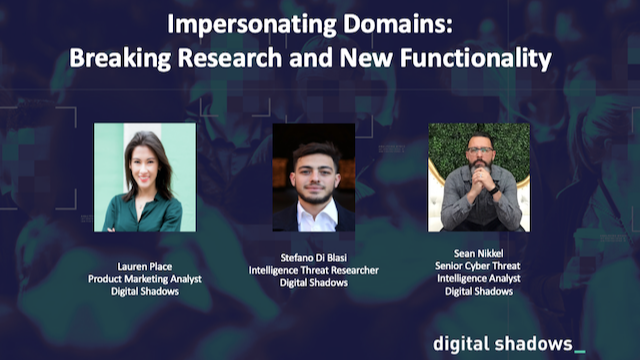 Impersonating Domains: Breaking Research and New Functionality