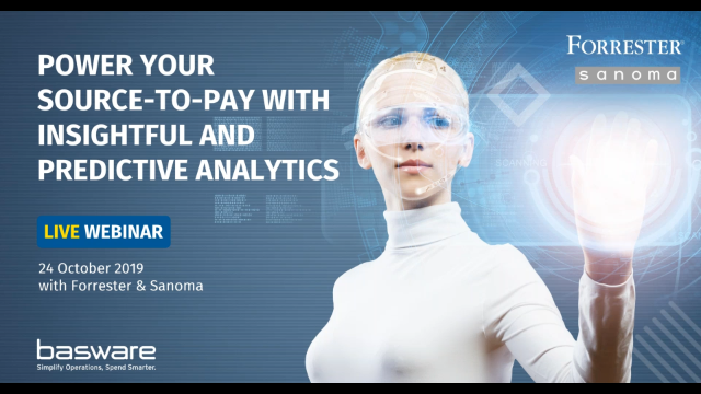 Power your Source-to-Pay with insightful and predictive analytics