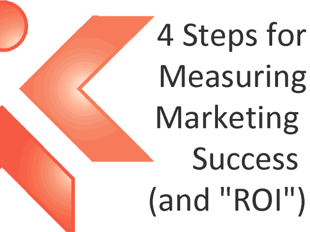 "4 Steps for Measuring Marketing Success (and ""ROI"")"