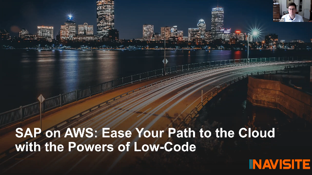 SAP on AWS: Ease Your Path to the Cloud with the Powers of Low-Code