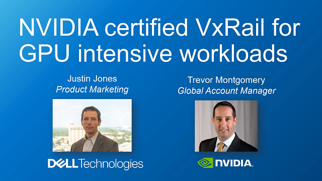 Accelerate Modern Applications with NVIDIA and Dell Technologies