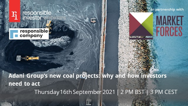 Adani Group's new coal projects: why and how investors need to act