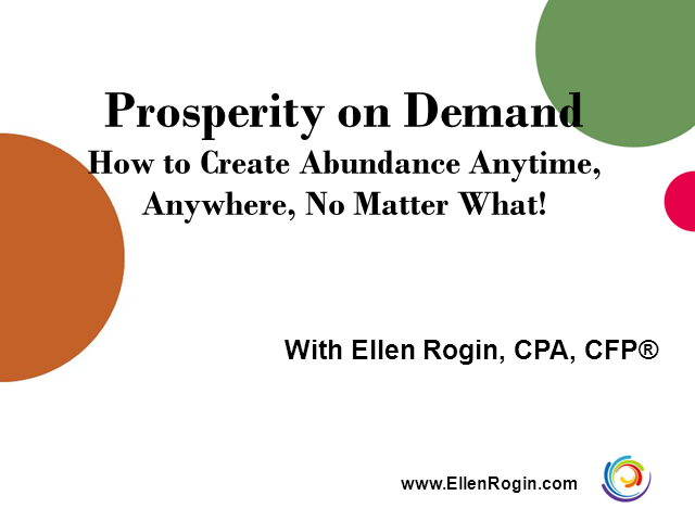 Prosperity On Demand: How to Create Abundance Anywhere, Anytime - No Matter What