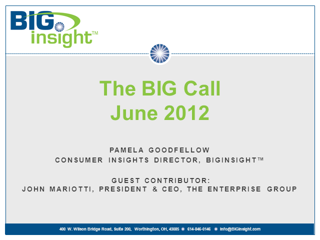 BIG Call - June 2012