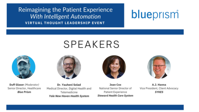 Reimagining the Patient Experience With Intelligent Automation