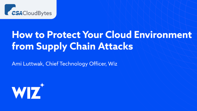 How to Protect Your Cloud Environment from Supply Chain Attacks