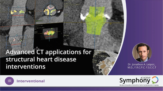 Advanced CT Applications for Structural Heart Disease Intervention
