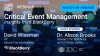 Critical Event Management Insights from BlackBerry with IDC Research