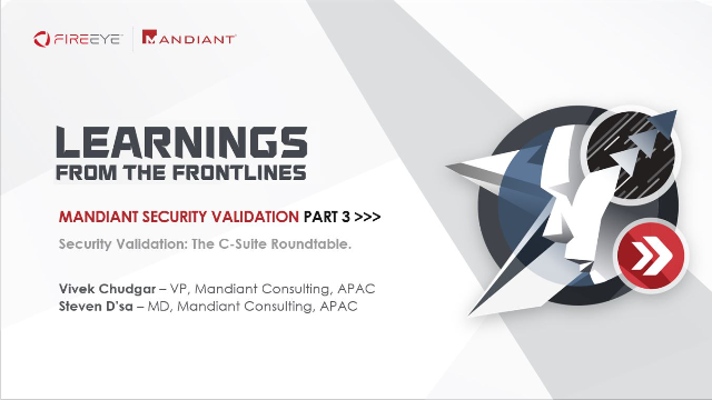 Security Validation: The C-Suite Roundtable.