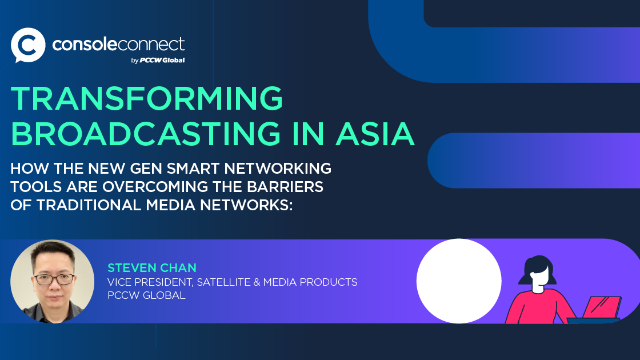 Transforming broadcasting in Asia with network automation