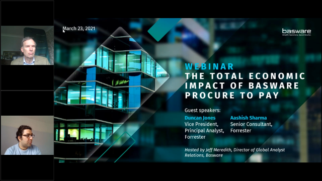 Webinar featuring Forrester: The Total Economic Impact of Basware P2P