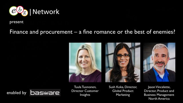 Finance and procurement – a fine romance or the best of enemies?