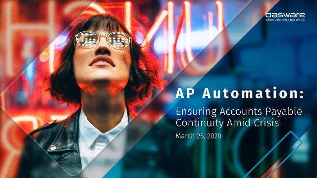 AP Automation - Mitigating Risk in Turbulent Times