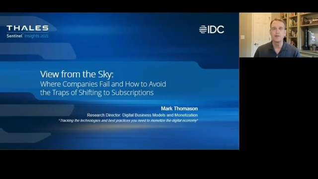 DE Subtitled: View from the Sky - Where Companies Fail Shifting to Subscriptions